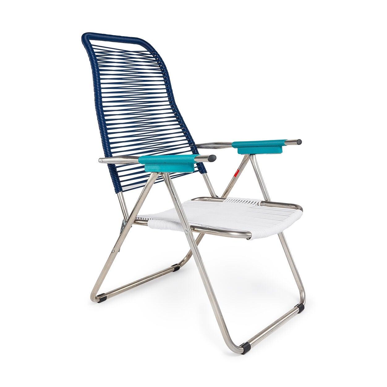 Blue Spaghetti Chair