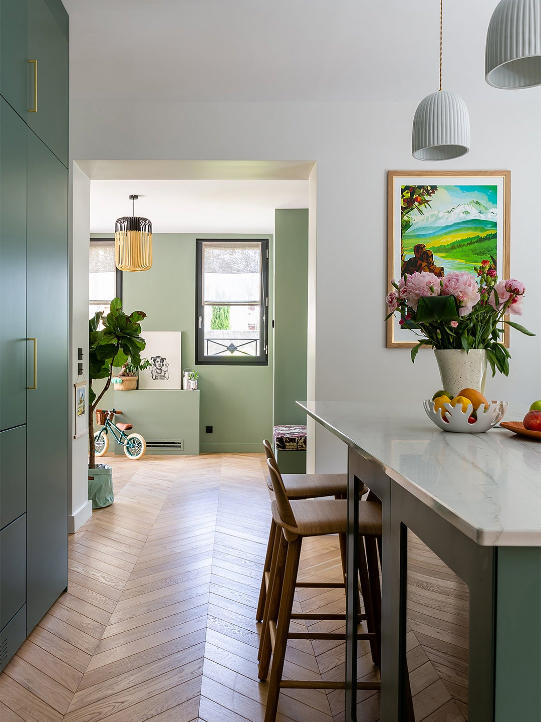 This Brand's Kitchen Cabinet Color Is Officially More Popular Than Classic Navy