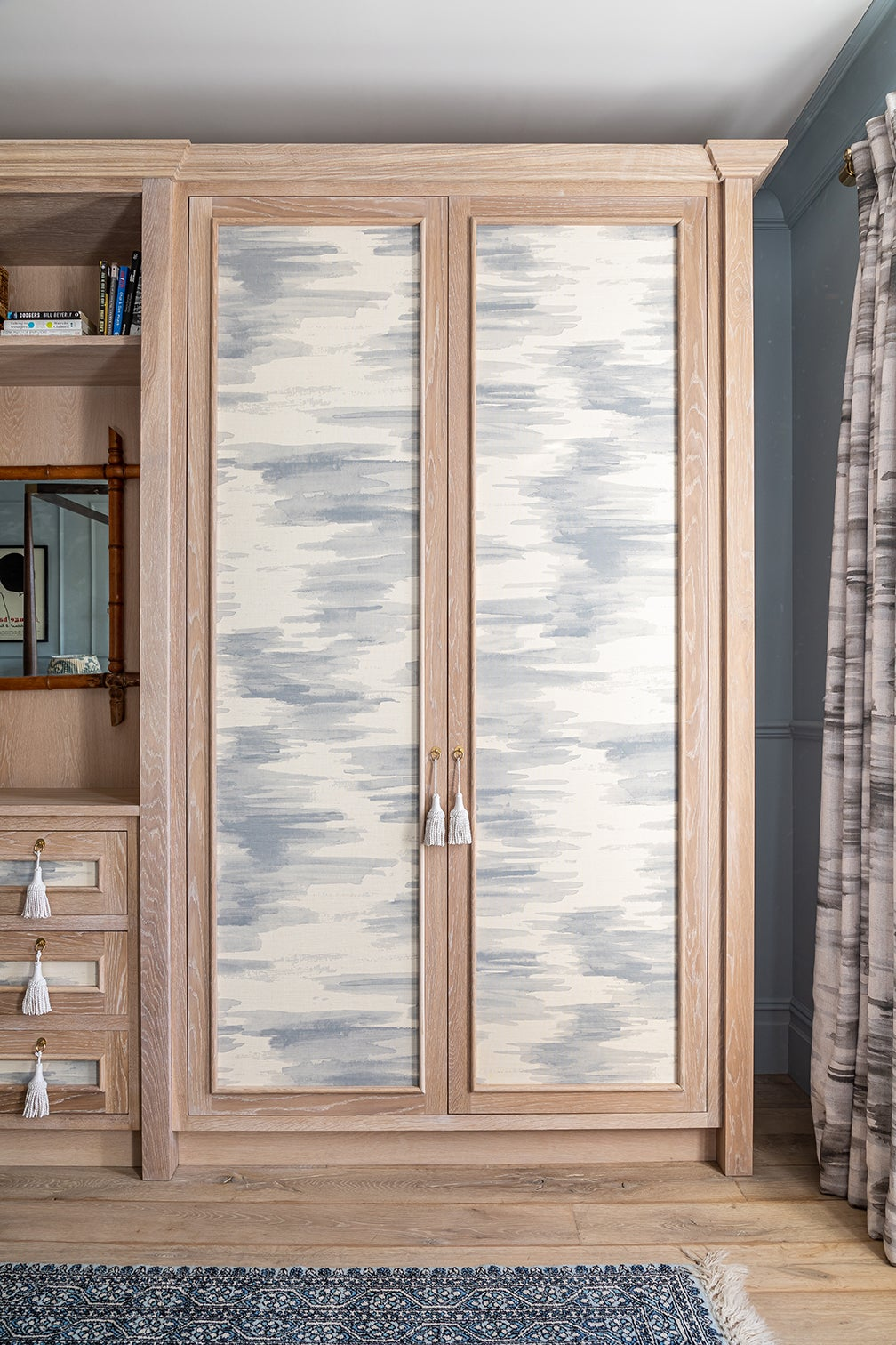 fabric covered wardrobe doors