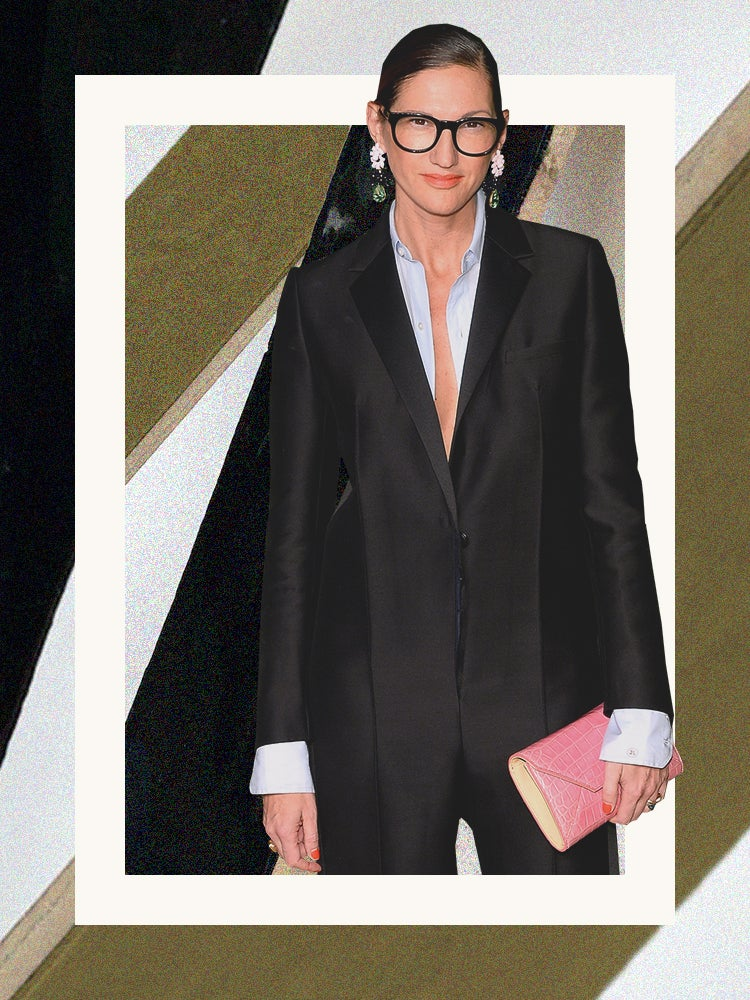 Of Course Jenna Lyons Found a Chic Solution to Ugly Grout Lines