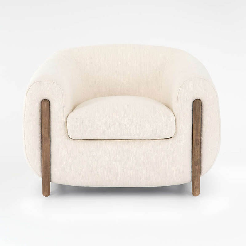 The Best Reading Chair Option Crate & Barrel Nora Tub Chair