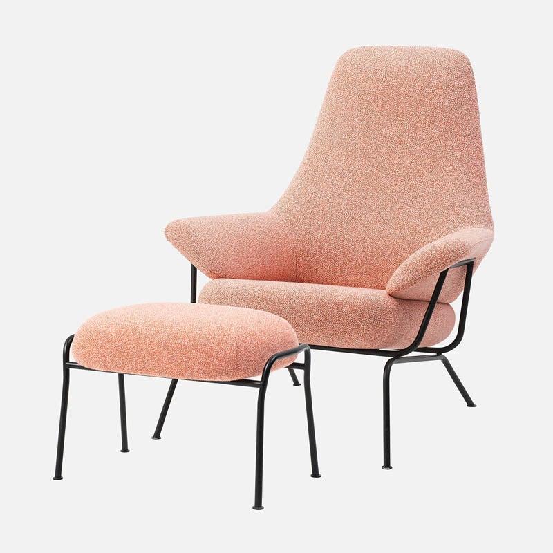 The Best Reading Chair Option Hem Hai Lounge Chair + Ottoman