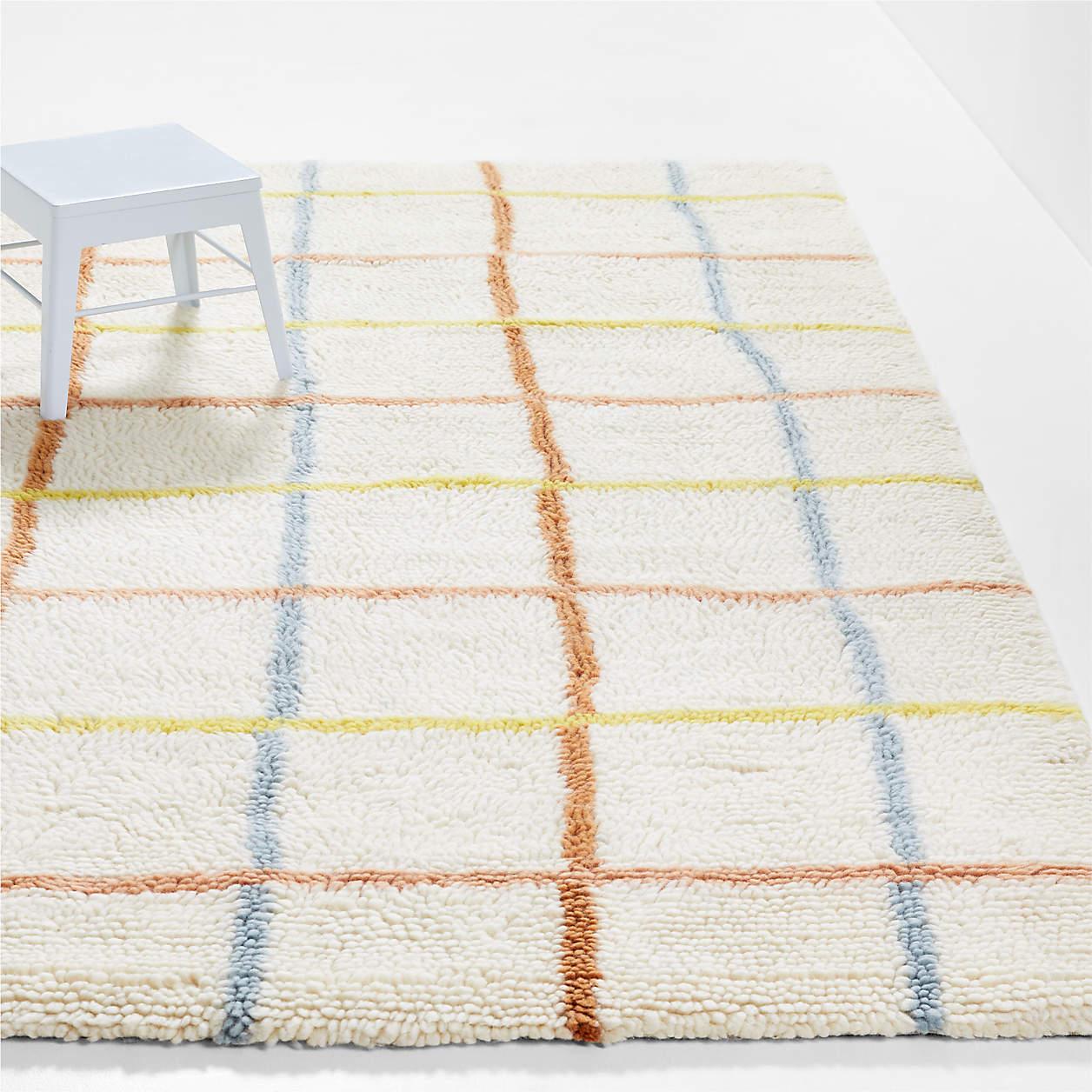warm-colored-grid-washable-wool-rug