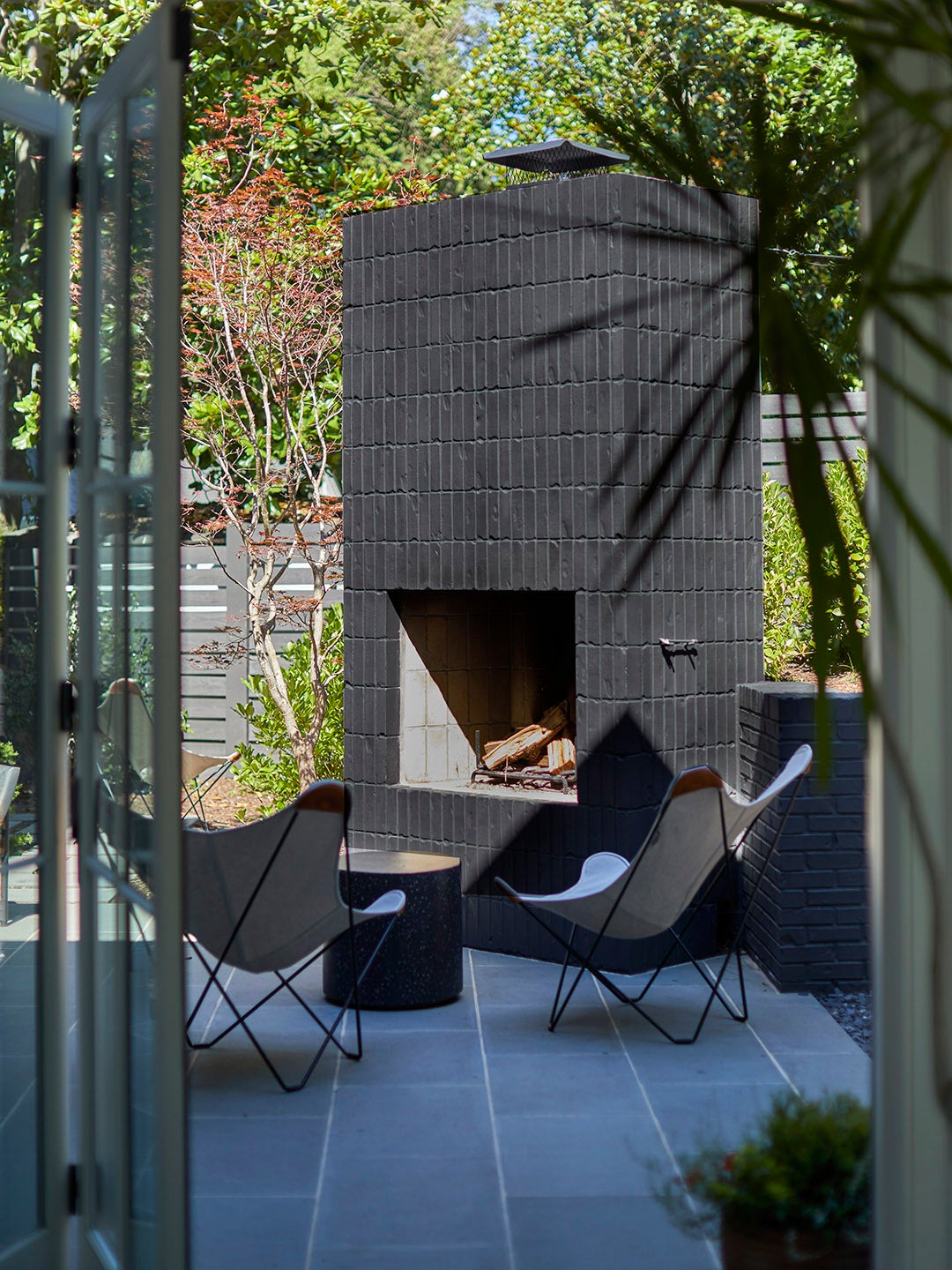This Game Room–Meets–Outdoor Hangout Zone Is a Teen's Dream Space