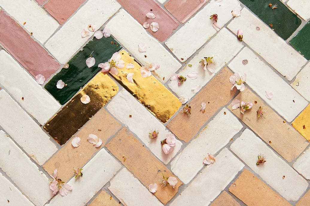 These Gold Tiles Cost a Cool $555 Per Square Foot—Luckily There's a Work-Around