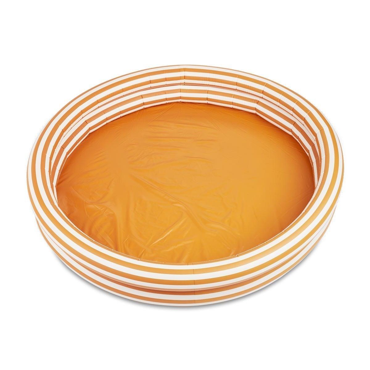 Mustard Stripe Kiddie Pool