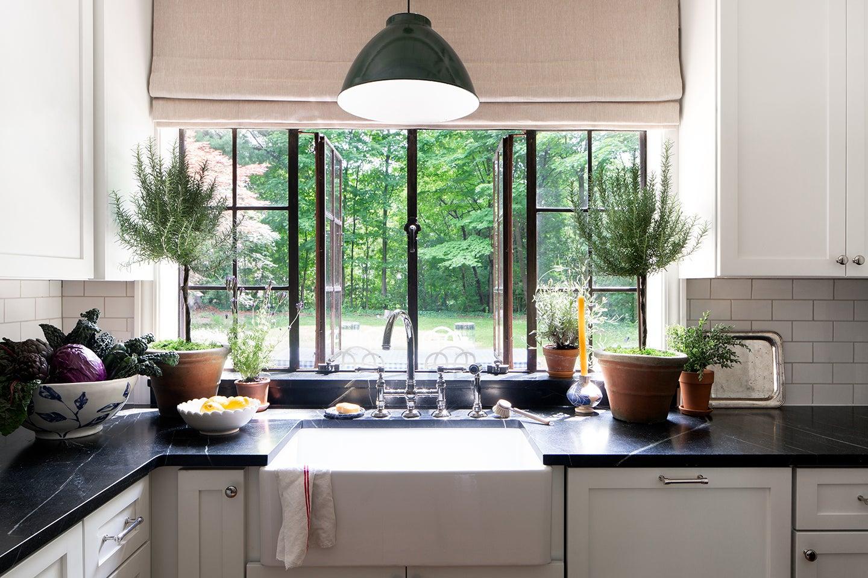Kitchen Window Farmhouse Sink