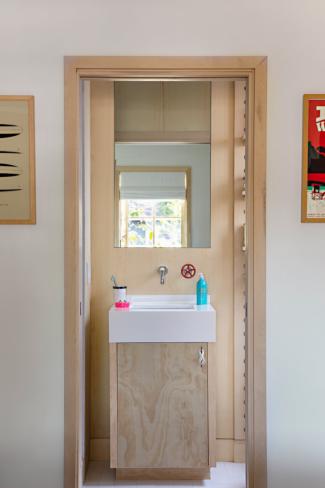 plywood vanity cabinet