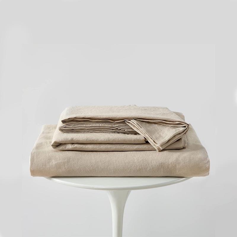 The Best Linen Sheet Set Option Bedsure Linen Sheets Set