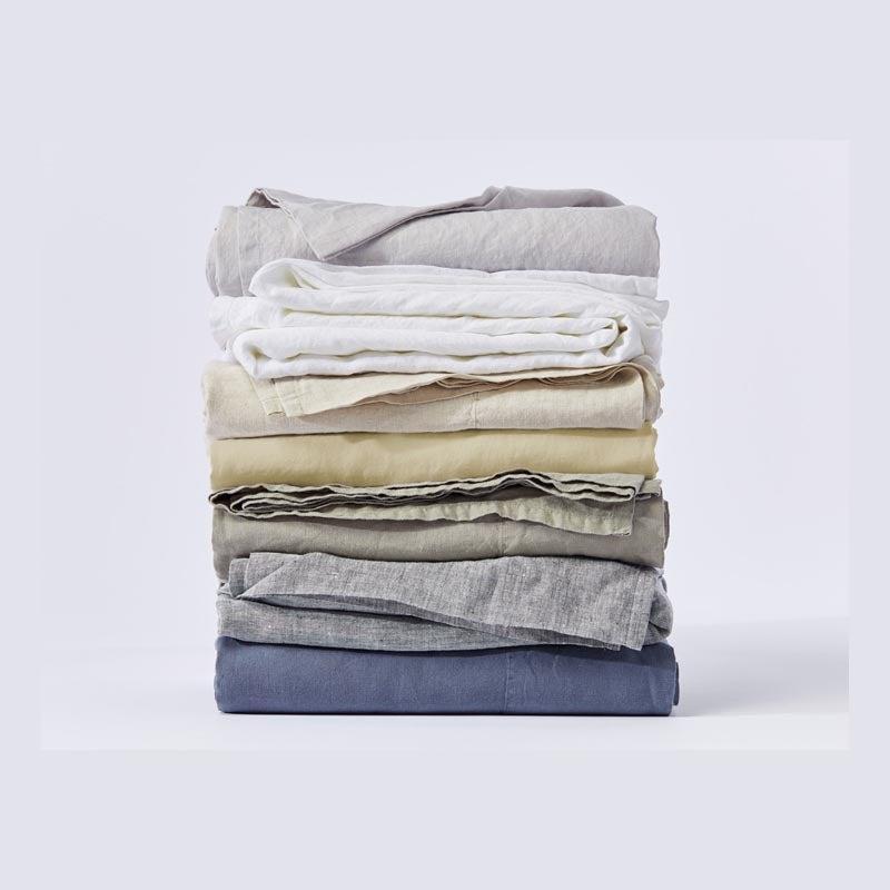 The Best Linen Sheet Set Option Coyuchi Organic Relaxed Linen Sheets
