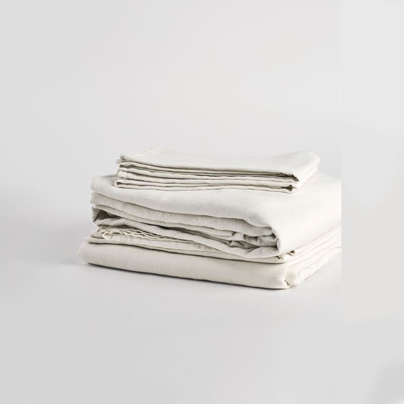 The Best Linen Sheet Set Option Matteo Vintage Linen