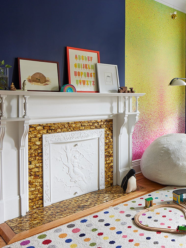 Rainbow Walls and Mini Food Figurines Bring the Fun to This Brooklyn Family Home