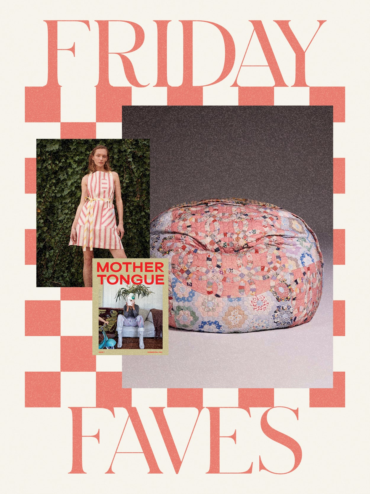 A Buzzy Pendleton Collab, Patchwork Beanbags, and More Design News We're Slacking About