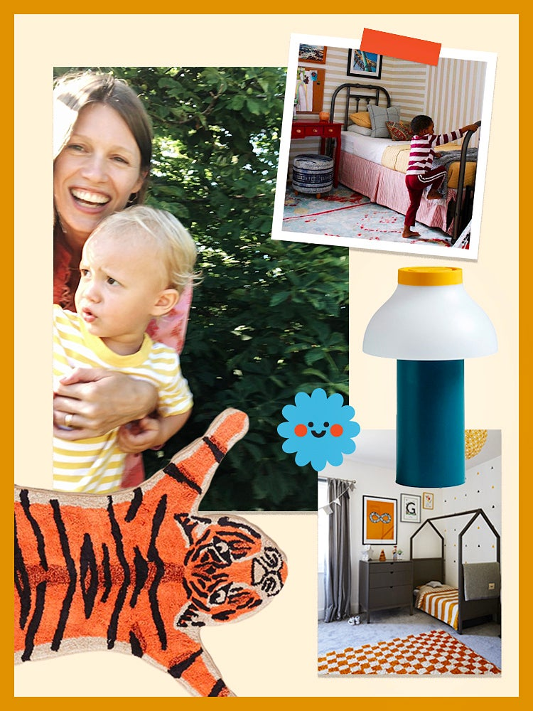Photo collage of new Domino Kids site images.