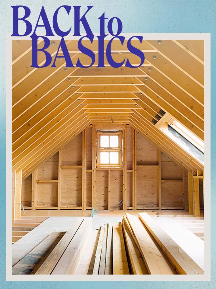 attic under construction