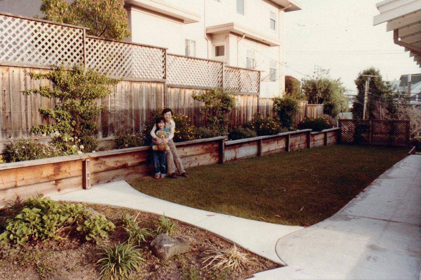 garden vintage image