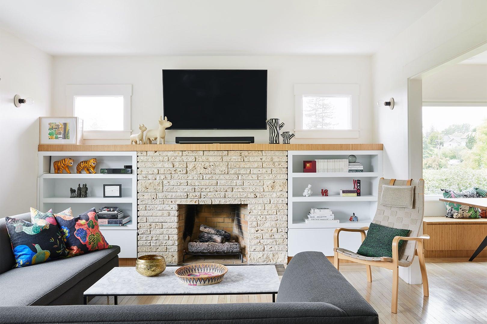 minimalist, Scandinavian living room