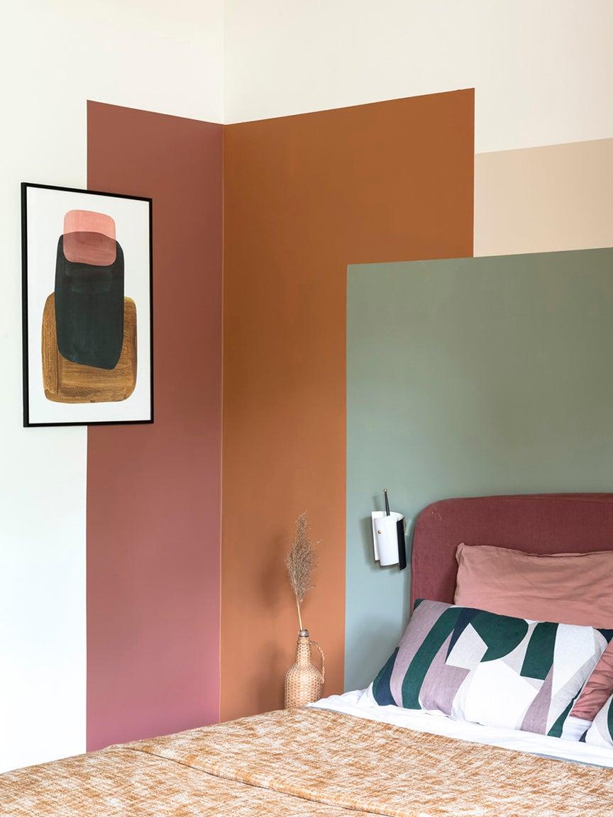 colorblocking walls