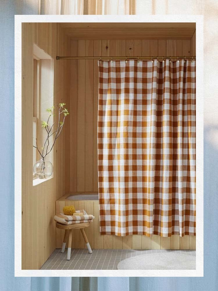 High Impact and Low Commitment, the 9 Best Shower Curtains Belong on Every Renter's Radar