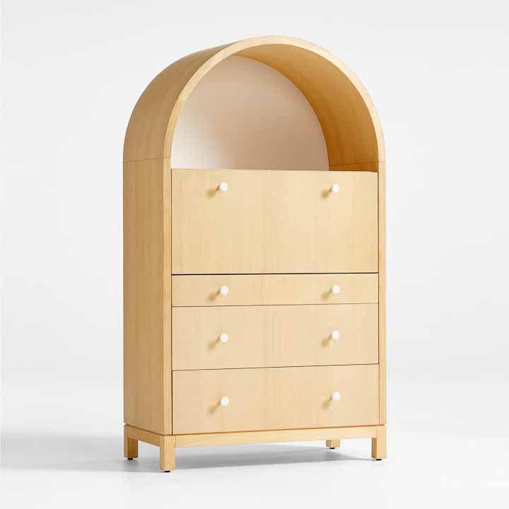 wooden secretary desk
