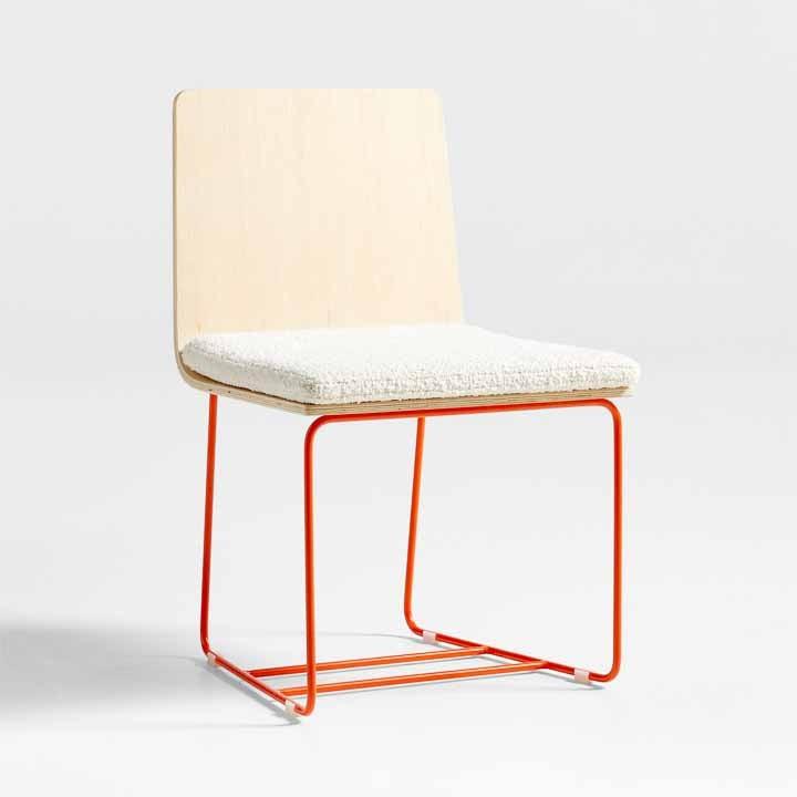 bouclette desk chair