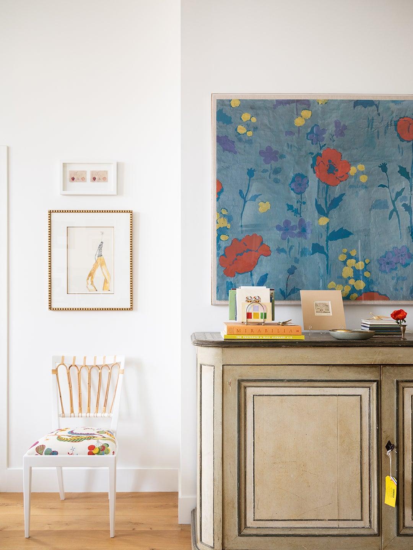 Buffet, Chair, Artwork