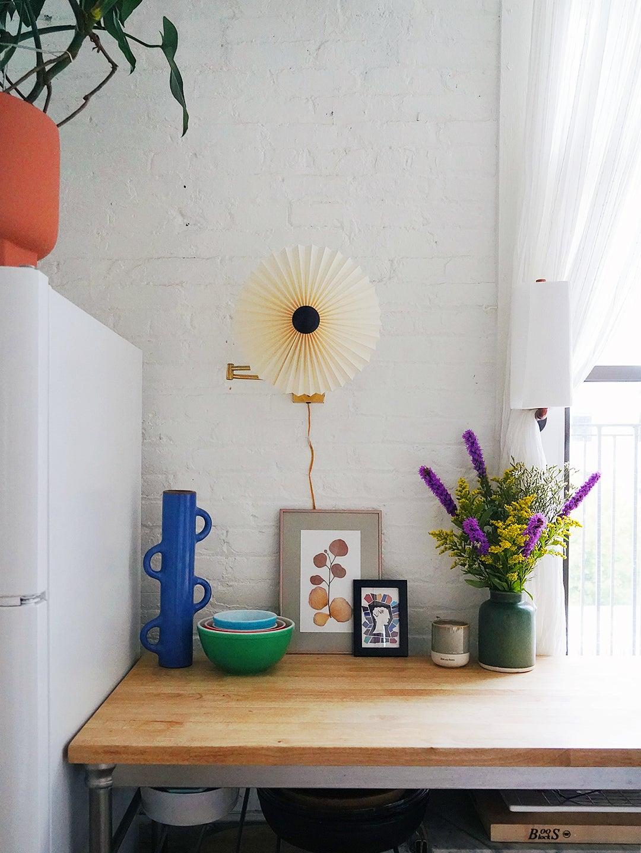 fan light sconce