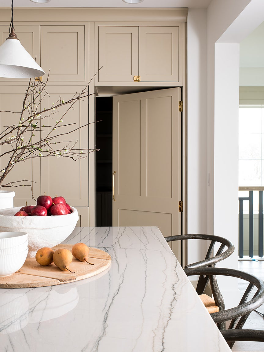beige cabinetry