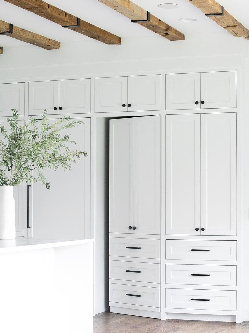 white secret door