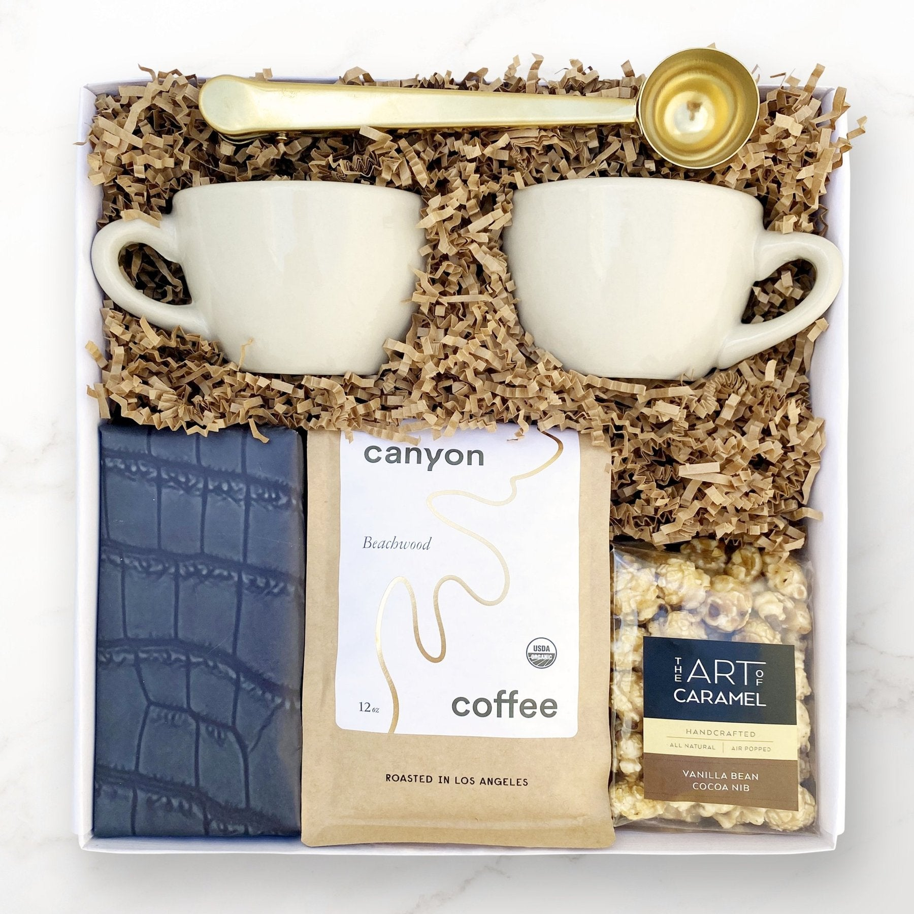 Best Gift Baskets Option: Palisades Canyon The Coffee Break Gift Set