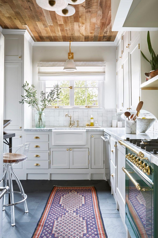 Gray Slate Stone Kitchen