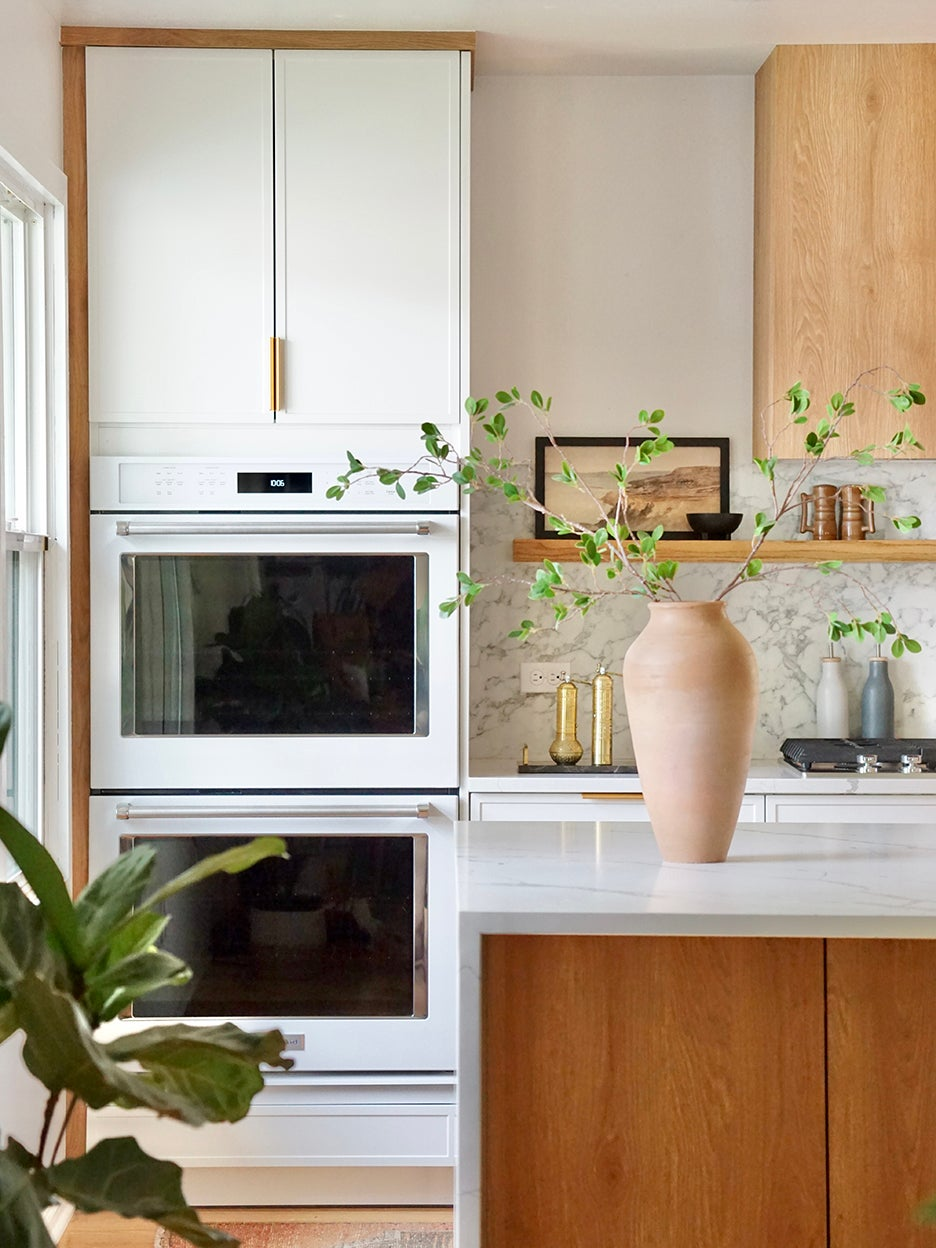 The Affordable Way to Get a Statement, Wood-Paneled Range Hood