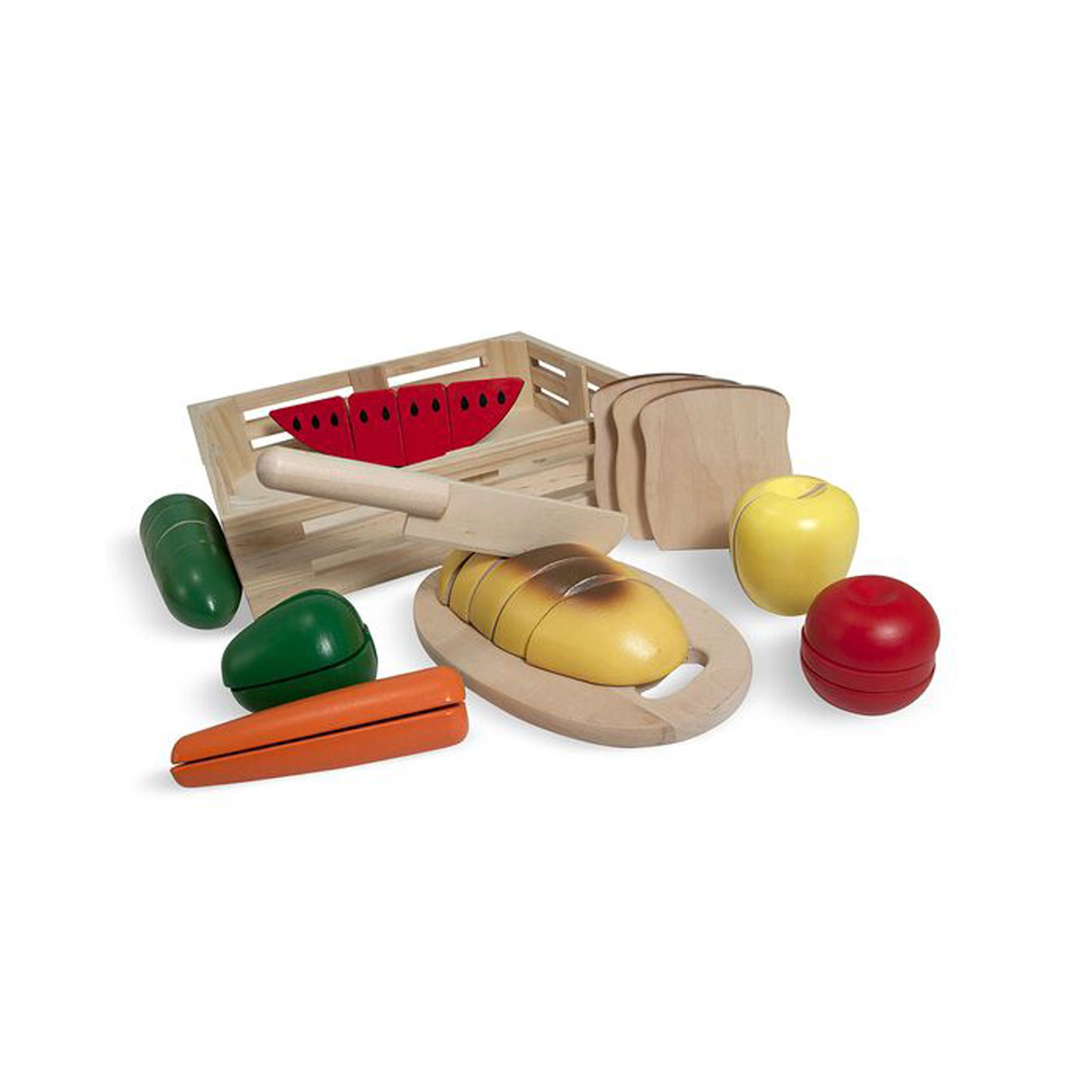 The-Best-Baby-Toys-Option-Melissa-And-Doug-Wooden-Cutting-Food-Set