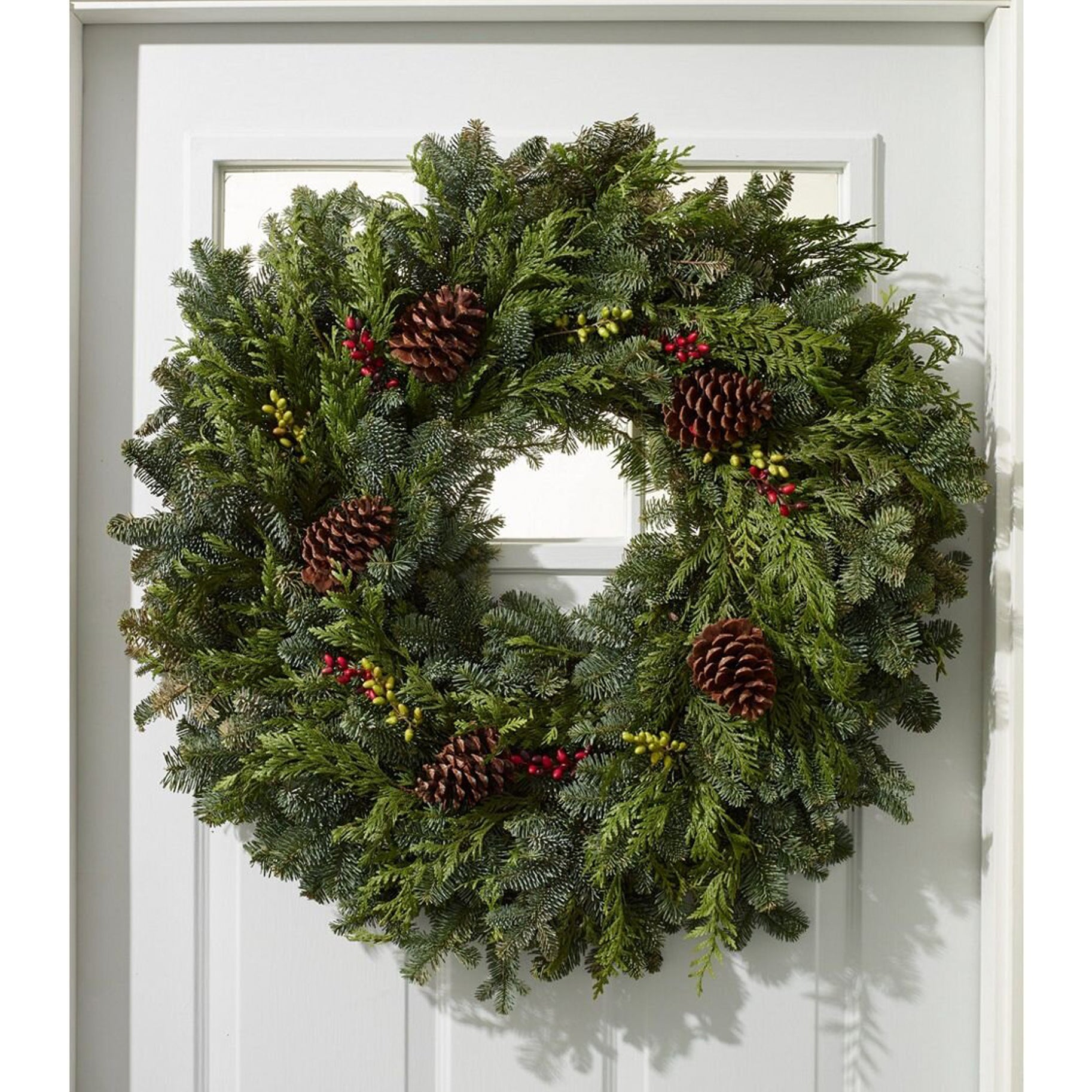 The Best Holiday Wreaths Option: L.L. Bean Woodland Berry Wreath