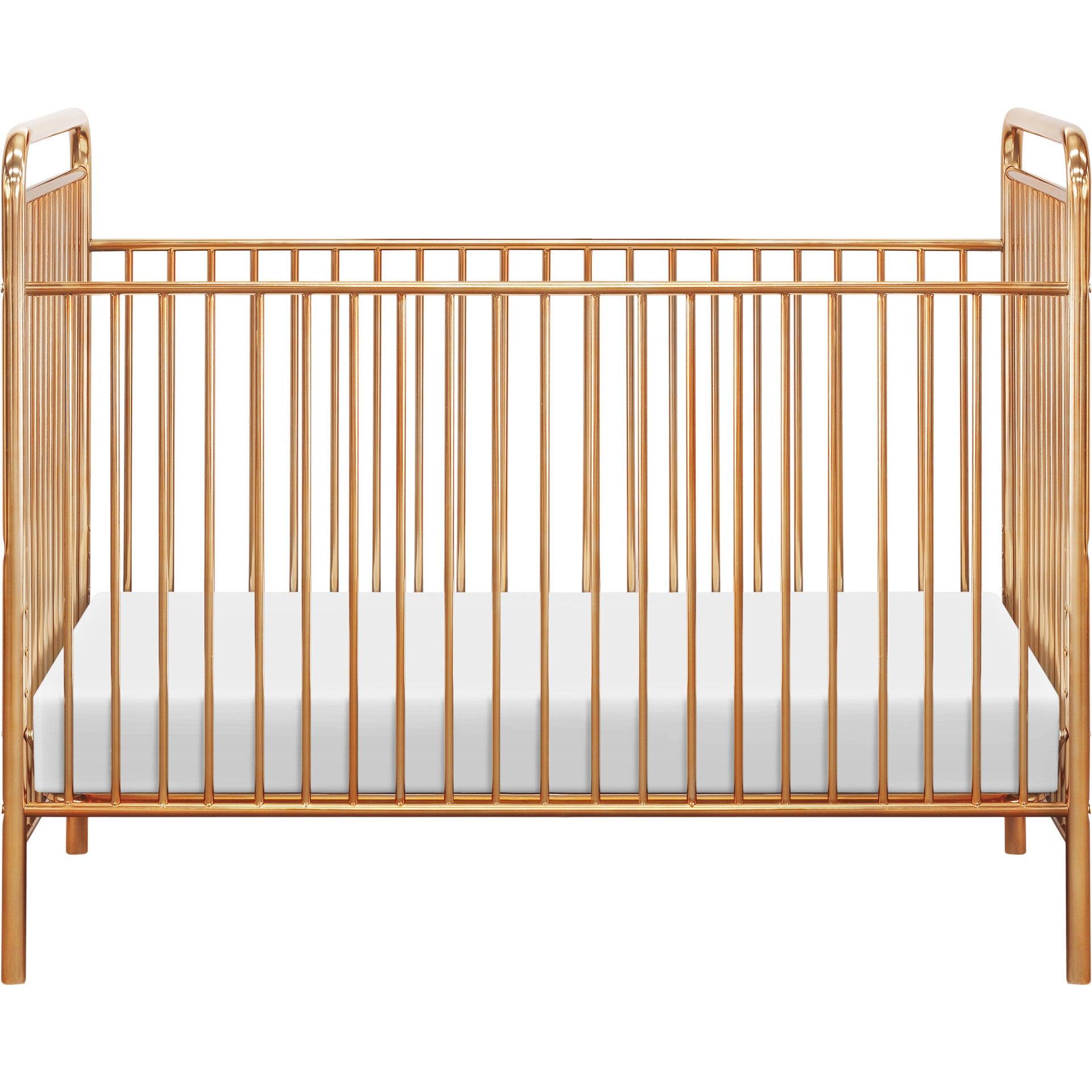 gold convertible crib