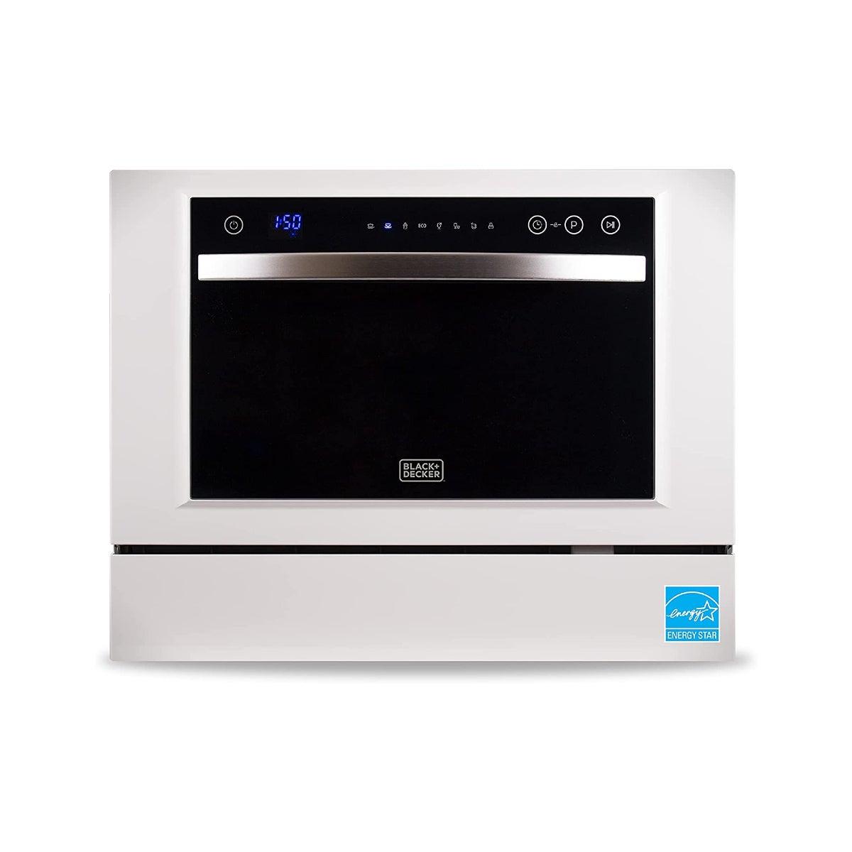 Best-Dishwashers-Option-Black-+-Decker-Compact-Countertop-Dishwasher