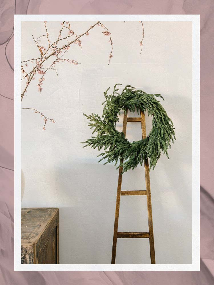 The Best Holiday Wreaths Are Festive—But Not Necessarily Fresh