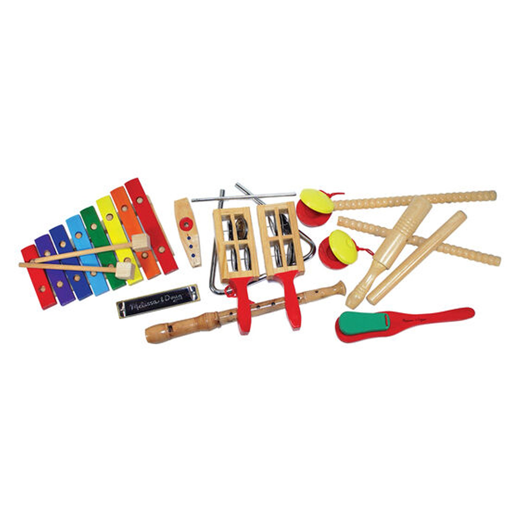The-Best-Baby-Toys-Option-Melissa-And-Doug-Wooden-Deluxe-Band-Set