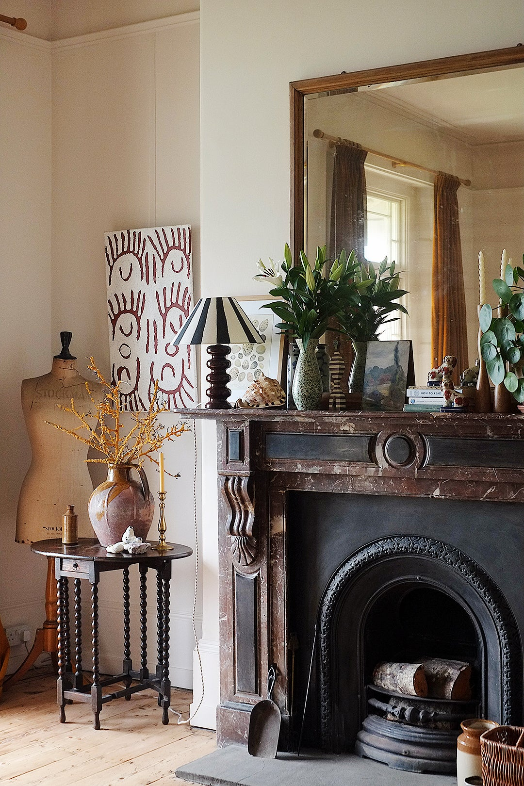 For This 200-Year-Old House Refresh, It Was Important to Not Lose the Romance