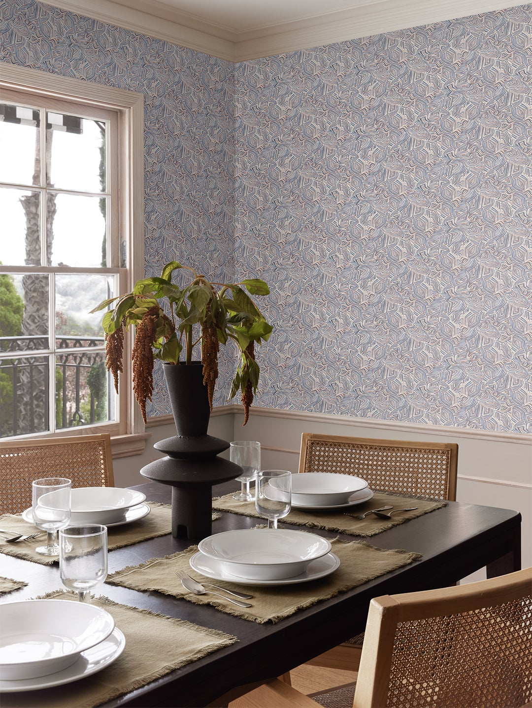 intricate mosaic wallpaper