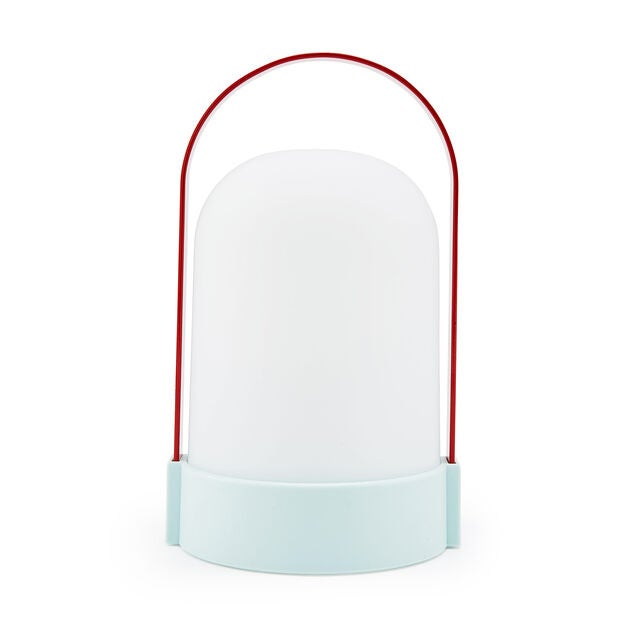 bicolore portable lamp