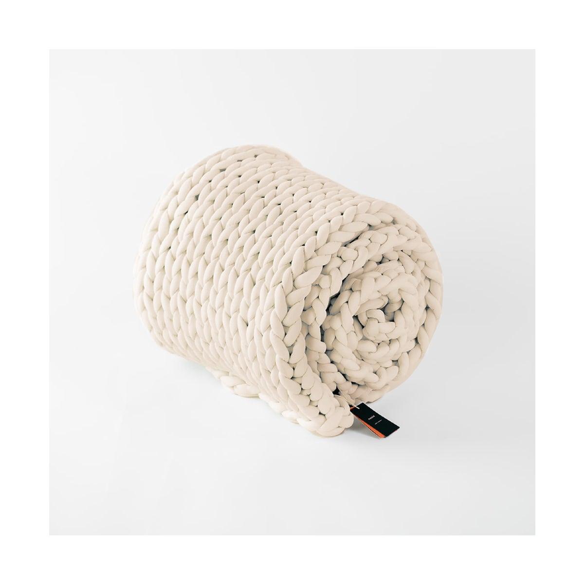 Best Weighted Blankets Option_ Nuzzie Knit Weighted Blanket