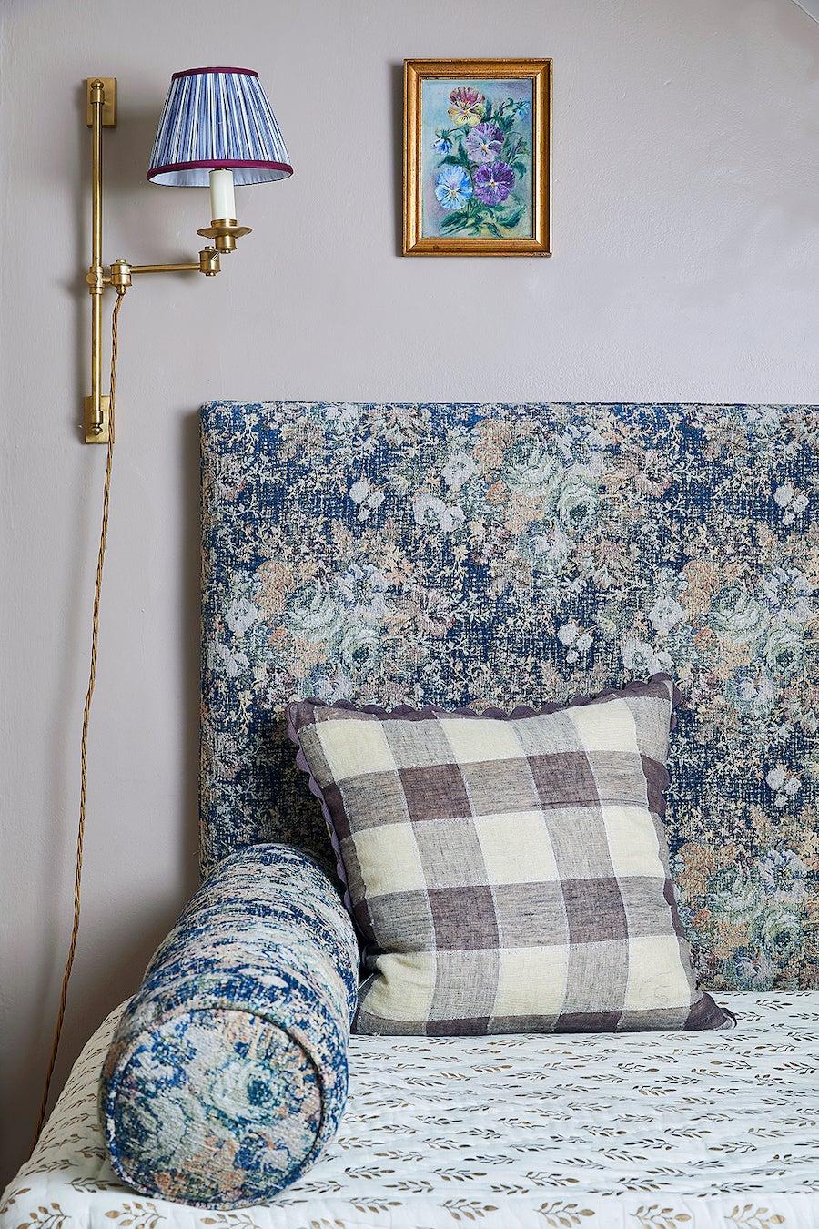 floral daybed backrest