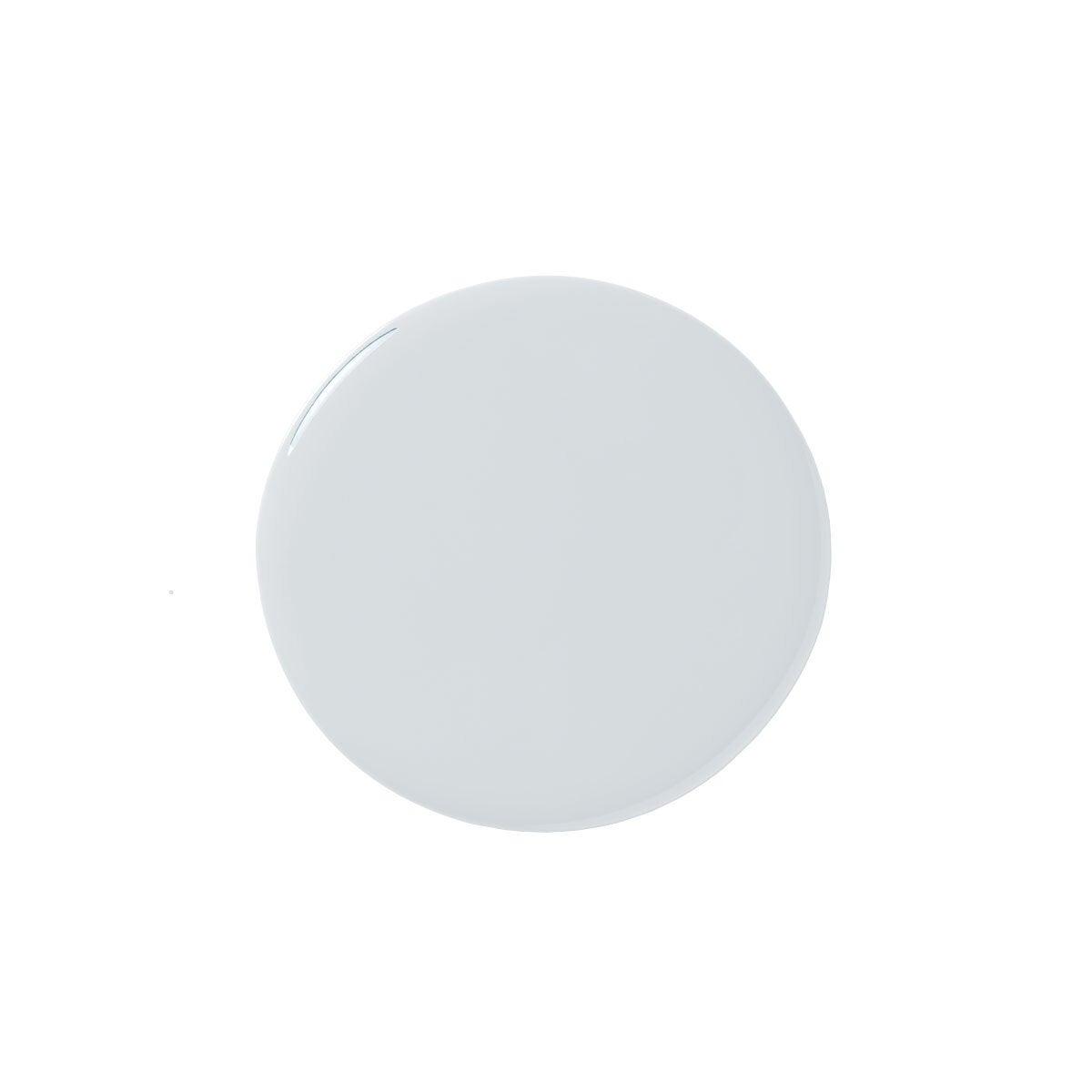 Pale Blue Paint Blob