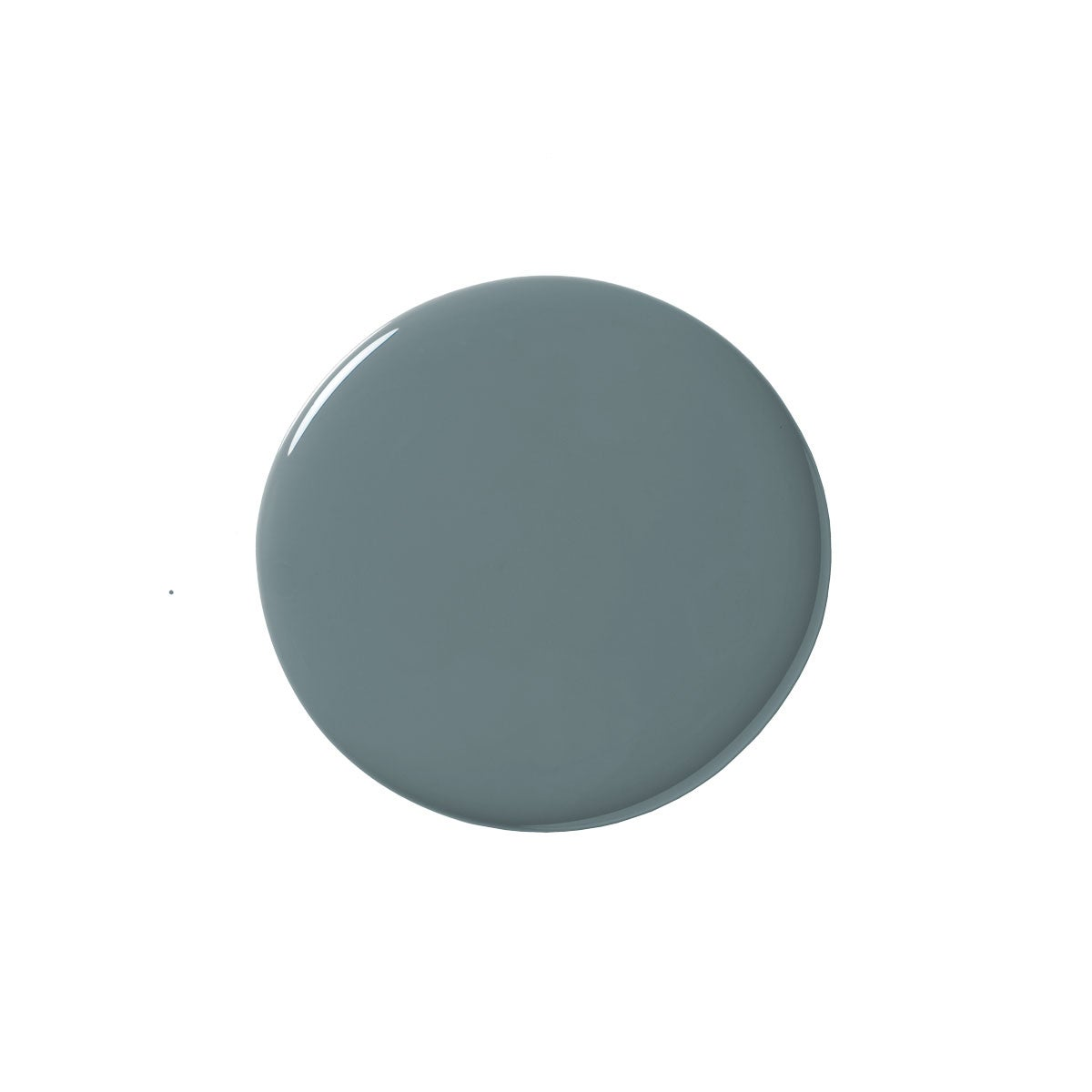 Blue Paint Blob