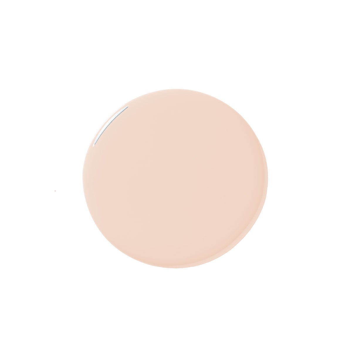 Pink paint blob