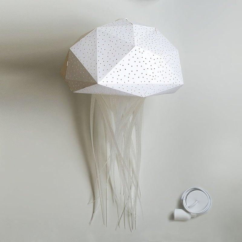 Best Kids Night Lights Option Giant Medusa Origami Lamp