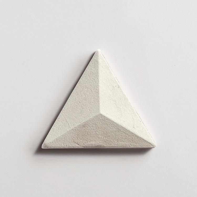 while ceramic tile