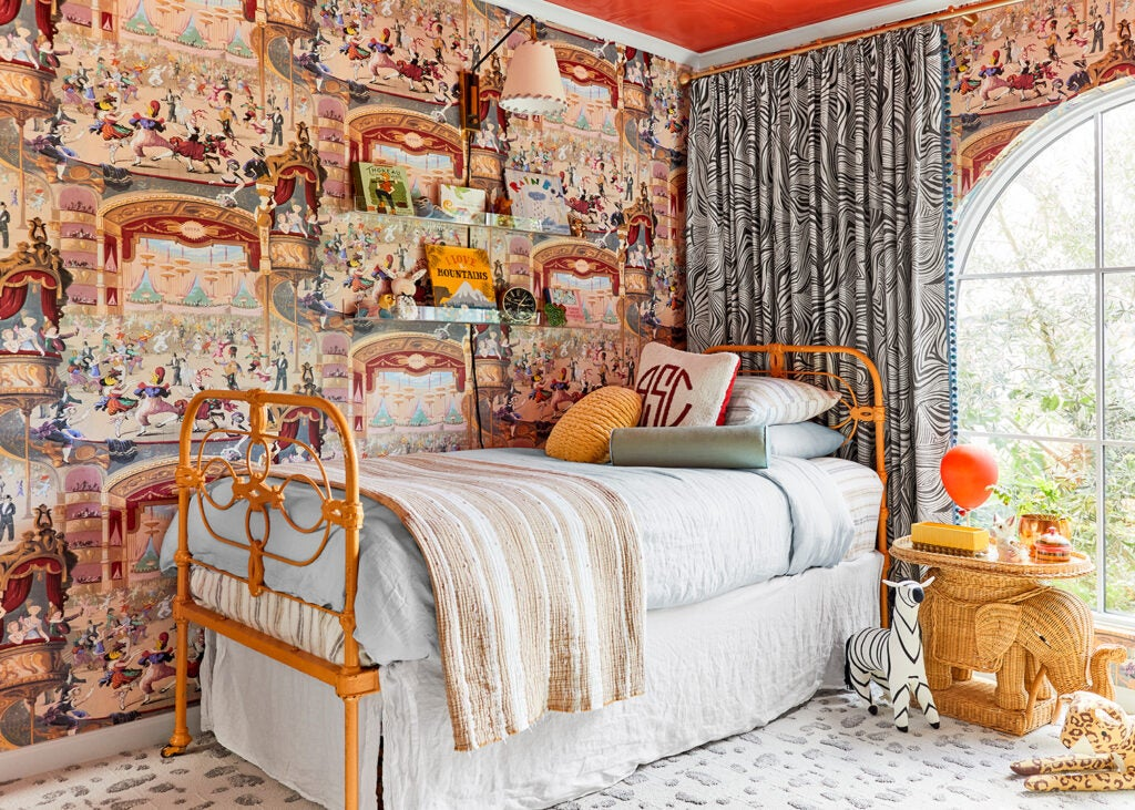 This Designer Didn't Expect a Maximalist Element to Inform Her Son's Entire Nursery