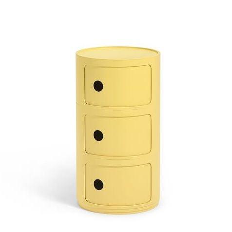 Yellow Storage Unit